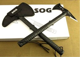 Wholesale SOG Tomahawk Army Indian HRC Steel Outdoor Hunting Camping Axe Fire Axe Axes Tool Mountain cutting Hatchet