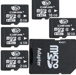 Wholesale 2015 New GB GB G MICRO SD MicroSD SDHC TF MEMORY CARD CASE ADAPTER READER