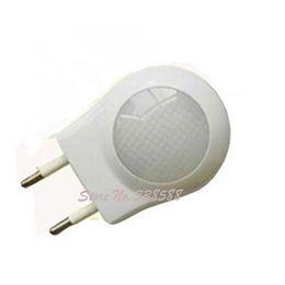 Modern Led Small Lamp EU Plug Baby Socket Lamp Sensor Kids Night Lights for bedroom,Free Shipping