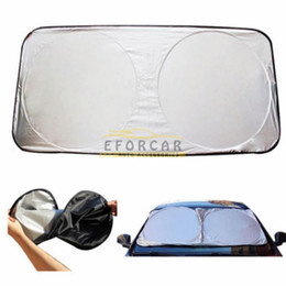 Wholesale Auto Front Rear Window Foils Windshield Sun Shade Car Windshield Visor Cover Block Front Window Sunshade UV Protect Car Window Film