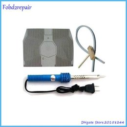 Fobd2repair car speedometer pixel missing fix ribbon lcd cable replace tool with for mercedes smart lcd connector cable