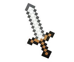 Wholesale 2014 Christmas Gift Minecraft Sword and Pickaxe EVA Foam Diamond Combo Set Weapons Axe Foam Pick Gold Grey Blue Figure Toy