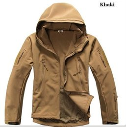 Wholesale Fall TAD Gear Lurker Shark skin Soft Shell TAD V Outdoors Military Tactical Jacket Waterproof Windproof Sports Army Clothing