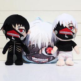 Wholesale Tokyo Ghouls Ken Kaneki Stuffed Dolls pillow Cozy Soft Movie TV Plush Toys quot cm Styles