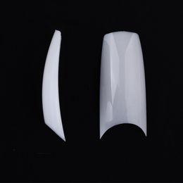 Wholesale 2016 New well less white french nail art U tips Acrylic Nail Tips False Nails False Tips SKU A0016