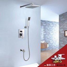 2way shower set concealed shower set top spray simple shower hand shower function