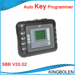 Wholesale 2014 Hot selling Best Quality SILCA SBB V33 SBB Key Programmer SBB Auto Key Maker Tool DHL