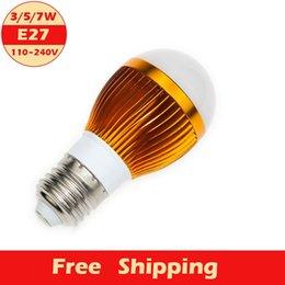 Wholesale 1pcs E27 LED Bubble Ball Bulb W V V LED Lamp High Light Room Store Company Advertising Decoration Beautify