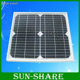 Wholesale Selling w Watt Solar Panel Mono crystalline Module Volt v v Free delivery with DHL