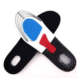 Wholesale Free Size Unisex Orthotic Arch Support Shoe Pad Sport Running Gel Insoles Insert Cushion for Men Women US03