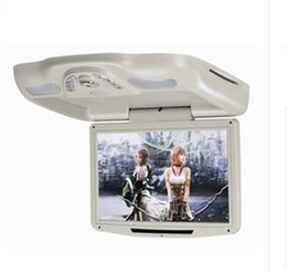 Wholesale 2015 New Car DvD Flip down DVD Monitor with USB SD IR FM Transmitter Wireless game