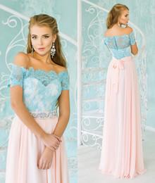Chiffon Lace 2016 Bridesmaid Dresses Short Sleeves Bateau A-line Bridesmaid Gowns Vintage Elegant Cheap Evening Dresses