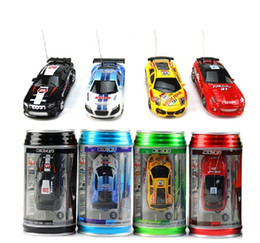 Wholesale Mini Racer Remote Control Car Coke Can Mini RC Radio Remote Control Micro Racing Car best Gift for children A