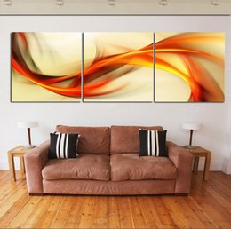 Abstract Art 3 piece Home Decor Modern Picture Set on Canvas Painting printed art picture Free Shipping