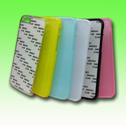 Wholesale for iphone inch DIY sublimation blank hard plastic case with metal aluminium sheet