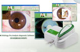 Wholesale EH900U MP High Resolution USB Digital Iris health Analyzer Iriscope Iridology Camera Iris Diagnosis System EH900U iris camera