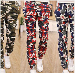 Wholesale Sea army AIR army Men boy s Military Camouflage Cargo Sweat Pants Harem Baggy Jogging Trousers Slacks running cycling hikking sport pants