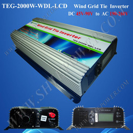 wind turbine 2000w wind grid tie inverter ,pure sine wave inverter ,dc to ac wind power inverter