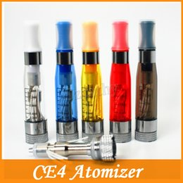 Wholesale china Ego ce4 atomizer Electronic Cigarette atomizer ml ego t ce4 Cartomizer E cigarette Clear clearomizer