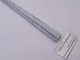 "Wholesale-20gauge paper covered wire 23""long 20pieces per pack wedding flower wire"