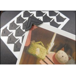 Wholesale Sheets Stickers Classical DIY Photo Album Scrapbook Corner Sticker Paper PVC sheet D1630