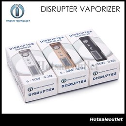 Wholesale Original Innokin Disrupter Vaporizer Disrupter Body OLED Screen Variable Wattage W For Innokincell Battery Vaping Power System