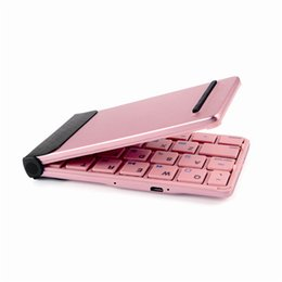 Wholesale Wireless Keyboards Portable For Mini Touchpad iPhone Smart Devices Best Folding Keyboards Support IOS Android and Windows iLepo Flyshark II
