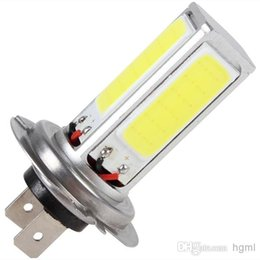 New arrive 20W H7 Super High Power COB LED light White Car Fog Light for Fog Driving   DRL CEC_471