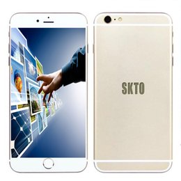 Wholesale Real fingerprint i6s plus i6s cell phone inch Android MTK6582 Show Octa Core G LTE WCDMA g smartphone