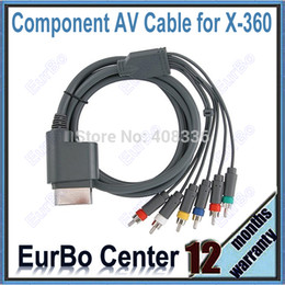 Promotion câbles xbox av Composant RCA gros-HD AV Câble audio vidéo pour Xbox 360