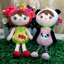 35cm 4 styles mix wholesale Hot Metoo Cartoon Stuffed Animals Angela Plush Toys Sleeping Dolls for Children Toy Birthday Gifts Kids