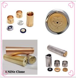 Wholesale New infinite nine clone Mechanical Mod copper nine mod Stainless Steal Fit atty v2 tugboat Kayfun Ithaka atomic cat Atomizer