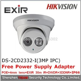 3Megalpixe 1080P POE,cctv(Cftv),security,Network Dome surveillance,20-30m IR(Infrared) ,Hikvision Mini Outdoor camera