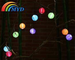 El mejor precio llevó las luces de navidad en Línea-Mejor Precio 3.6m 10 LED blanco cálido blanco Energía Solar Luz Forma Jardín romántico Decoración al aire libre Cadena de Navidad Hada luces lámpara