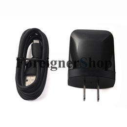 Wholesale 300 Rapid Charger Fast Charging AC Adapter TC P1000 US With Original Micro USB Data Sync Cable For HTC