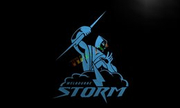 Wholesale LD378 Melbourne Storm Neon Light Sign home decor crafts led sign