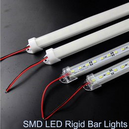 Wholesale Waterproof SMD cm LED Hard Rigid Strip Cabinet Bar Light Pure White Warm White With Cover DC12V