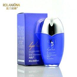 Wholesale ROLANJONA Hyaluronic Acid Brightening Shining BB Cream Face Foundation Base Makeup Whitening Concealer BB Creams g A6613