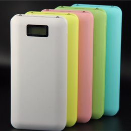 Wholesale NEW portable power High Quality Two lights display mAh Power Bank Backup Power External Battery Pack with retail package