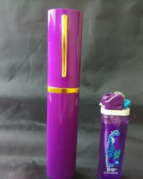 Wholesale glass hookah, bong accessories, pen Hookah, color random delivery, free shipping, large better