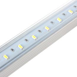 Wholesale 4pcs V LEDs USB Hard Strip Light Tube Day White Light Tube Lamp with ON OFF Switch EGS_384