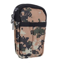 Wholesale Mini Molle Modular Multifunctional camouflage Bag Outdoor Hiking Waist Utility Tool Pouch Phone bag w Belt Clip YH0042