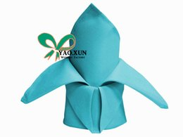 Wholesale Nice Looking Turquoise Color Table Napkin For Wedding Decoration cm cm Size