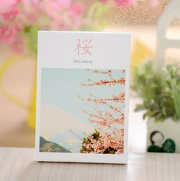 Wholesale-[Special] Sakura Cherry Blossom Flowers romantic aesthetic postcard 30   set^greeting card