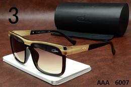 Wholesale Brand Cazals Sun Glasses Fashion Sunglasses Vintage Polarized Glasses For Men Women Tide Metal Frames Oversized Lens Frame Eyewear