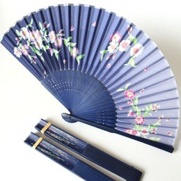 Wholesale China Folding Fan Classic Women Style Cloth Material Customized High Quality for Wedding Gifts Decoration Collecting