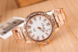 Roman scale quartz alloy, Switzerland watch Steel belt watch fashion