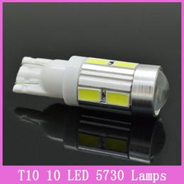 Wholesale 1PC NEWS Car Auto LED T10 W5W Canbus smd cree LED Light Bulb No error led light A3