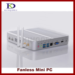 Wholesale 2015 new arrival mini pc i5 U CPU HTPC home computer thin client GB RAM GB SSD USB HDMI VGA