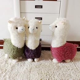Mud Horse Plush Toy Kawaii Kids Brinquedos Mud Horse  Alpaca Sheep Dolls Soft Warm Hand Arpakasso Llama plush stuffed toys